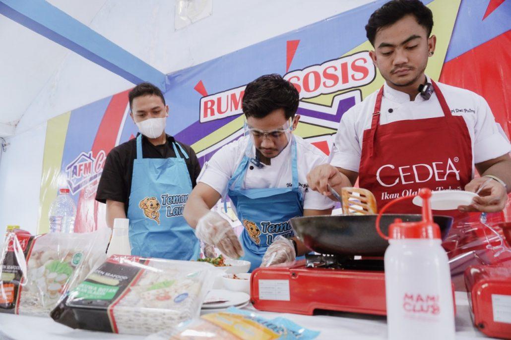 Konsultan Restoran, live Cooking Demo